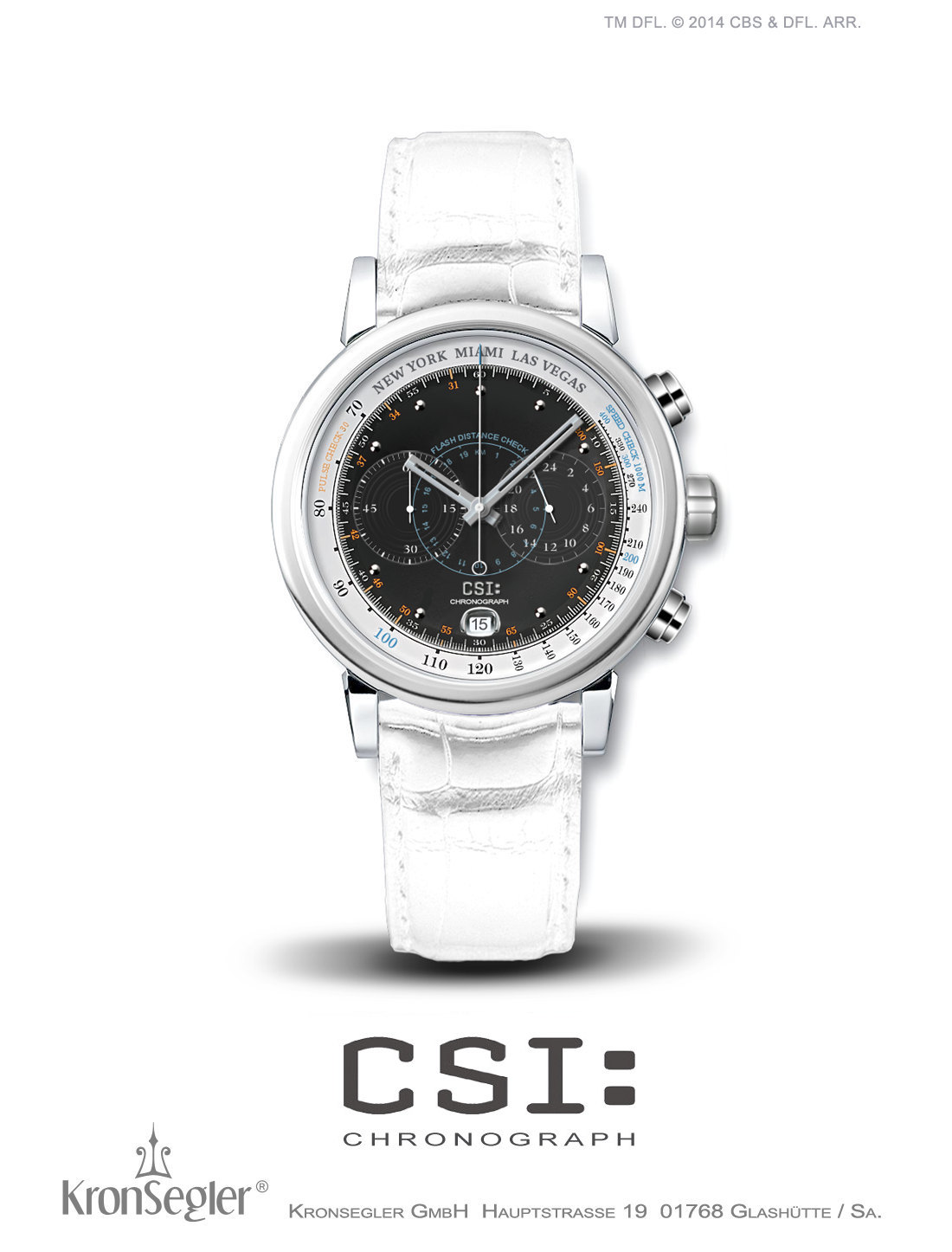 Foto Uhr für CSI-Fans