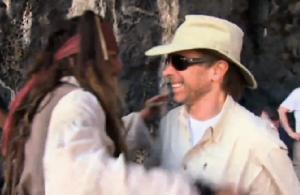 Begrüßung Johnny Depp und Jerry Bruckheimer