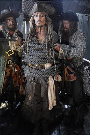 "Jack Sparrow in ""Fluch der Karibik 5"""